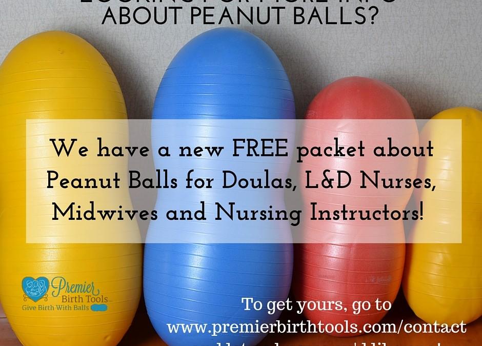 FREE Peanut Ball Information Packet!
